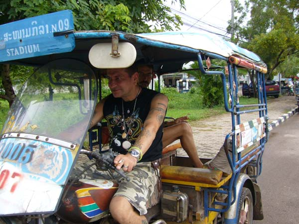 TukTuk in Laos