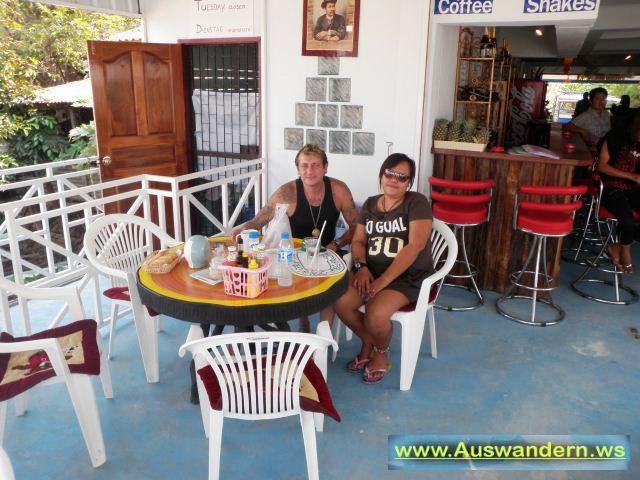 Restourant von Franz in NongKhai kurz vor Laos